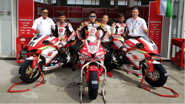 Rajiv scored first points, Hada gets two podiums at ARRC