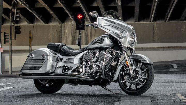 2018 Indian Chieftain Elite launched