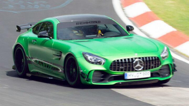 A 750bhp Mercedes-AMG GT R lapped the 'Ring in 7m 04s