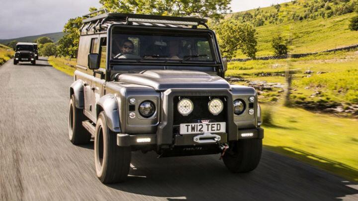 Review: Land Rover Defender V8