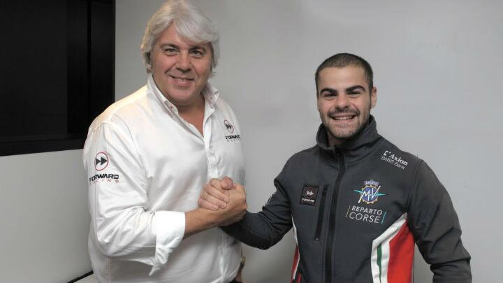 Romano Fenati joins MV Agusta for the 2019 Grand Prix season