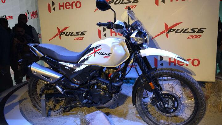 Hero MotoCorp unveils the production-ready Xpulse and two