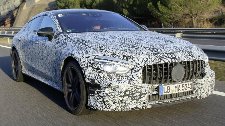 AMG's four-door super-coupe is coming to Geneva