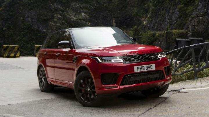 Watch a Range Rover drive 999 steps UP A MOUNTAIN