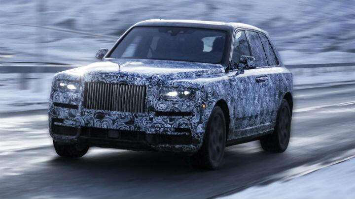 Official: the new Rolls-Royce SUV will be called 'Cullinan'