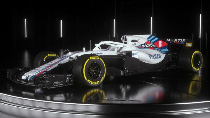Williams reveals 2018 F1 racer with a halo
