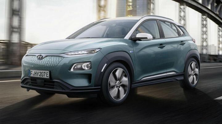 The Hyundai Kona Electric is a little plug-in SUV