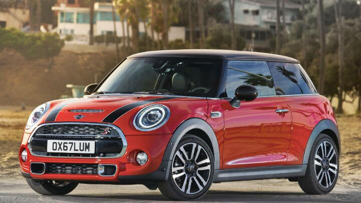The new Mini Cooper is terribly proud to be British