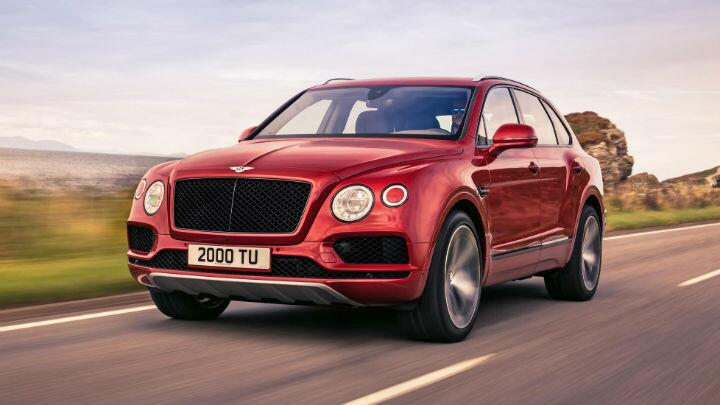 Bentley's new V8 Bentayga is probably the one you want