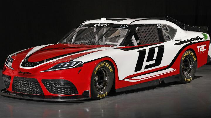 cb4c0234fdd The new Toyota Supra is already a NASCAR - Car news - BBC TopGear ...