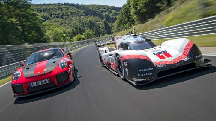 Topgear : Porsche's Nürburgring record holders have got