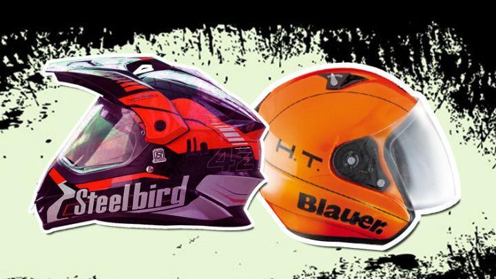 Steelbird teams up with Blauer HT helmets