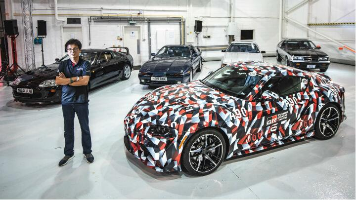 Behold: all five generations of Toyota Supra