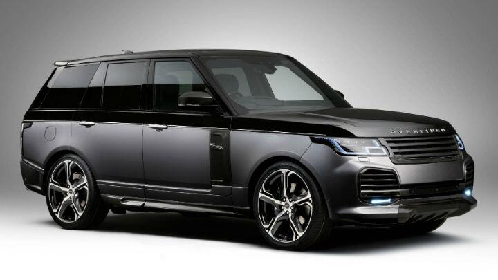 New Overfinch Range Rover: carbon fibre, bizarre upholstery