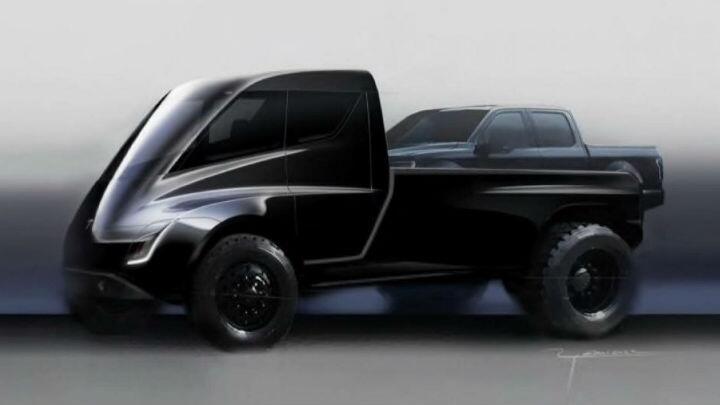 Elon Musk is planning an 800km Tesla pick-up truck - Car