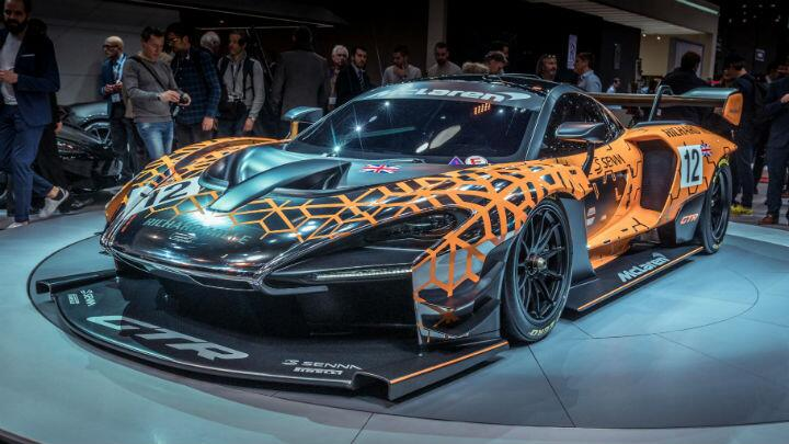 The Senna GTR is the fastest McLaren outside of F1