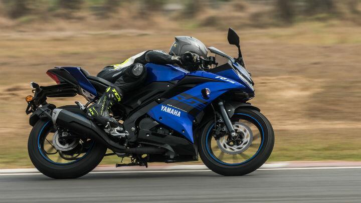 Yamaha YZF-R15 v3.0 ridden