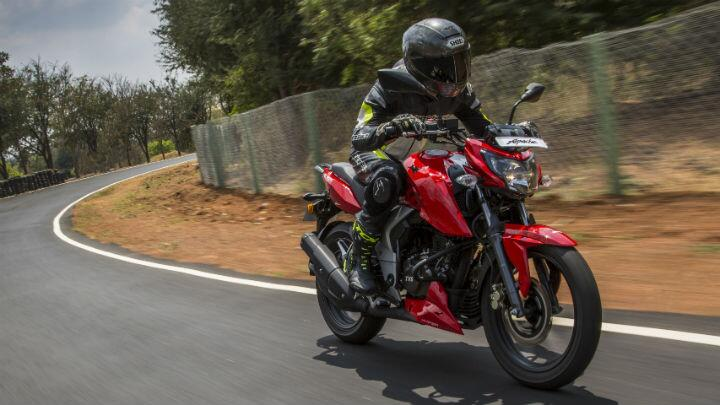 Topgear : First ride: TVS Apache RTR 160 4v | TopGear India