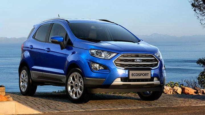 Launched: Ford EcoSport petrol Titanium+ with manual transmission