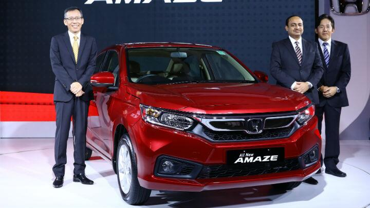 Launched: second-gen Amaze at Rs 5.6 lakh