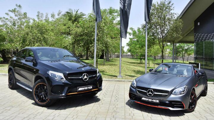 Mercedes launches limited editions of GLE 43 and SLC 43