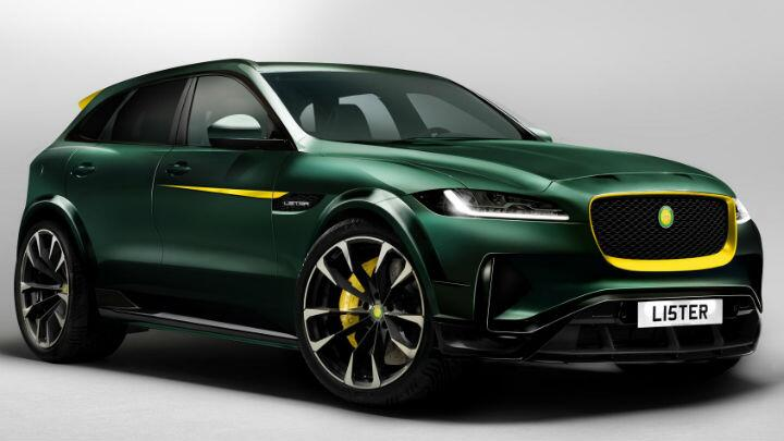 Lister says its Jaguar F-Pace will do 320kph