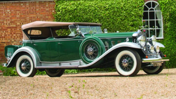 The 1931 Cadillac V-16 Sport Phaeton is going under the hammer