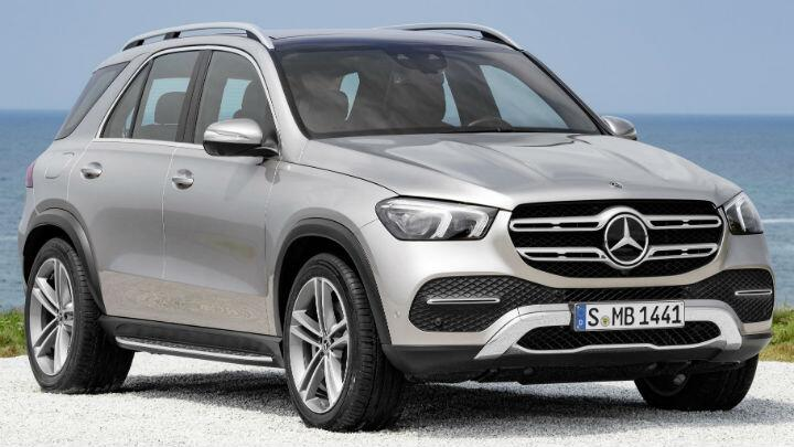 It's the new, tech-obsessed Mercedes GLE