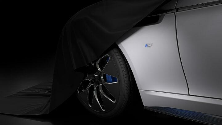 Aston Martin has revealed some of its electric Rapide E