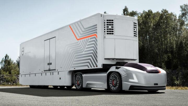 Volvo's made a self-driving truck called Vera