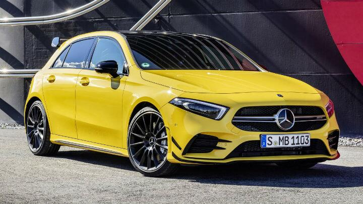 The Mercedes A35 is AMG's new baby hot hatch