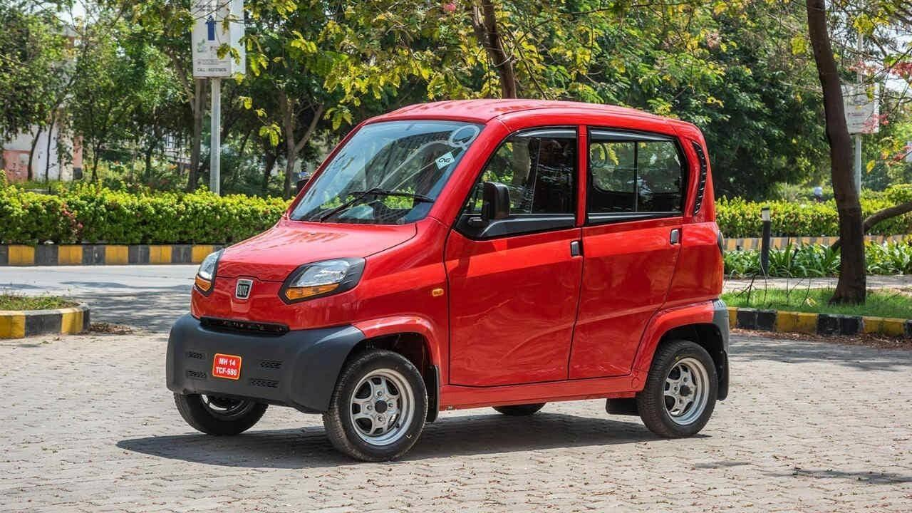 Bajaj Auto launches the Qute in Maharashtra