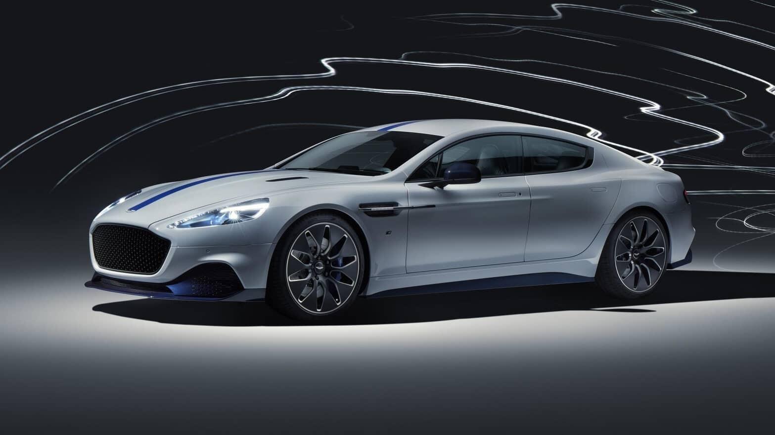 The Aston Martin Rapide E Is A 600bhp All Electric Supercar