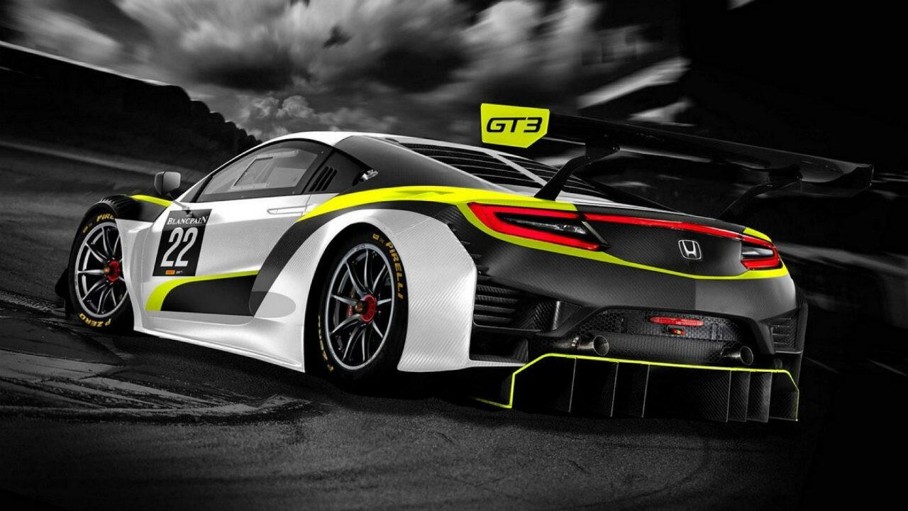 Jenson Button has a race team, and this Honda NSX is its car
