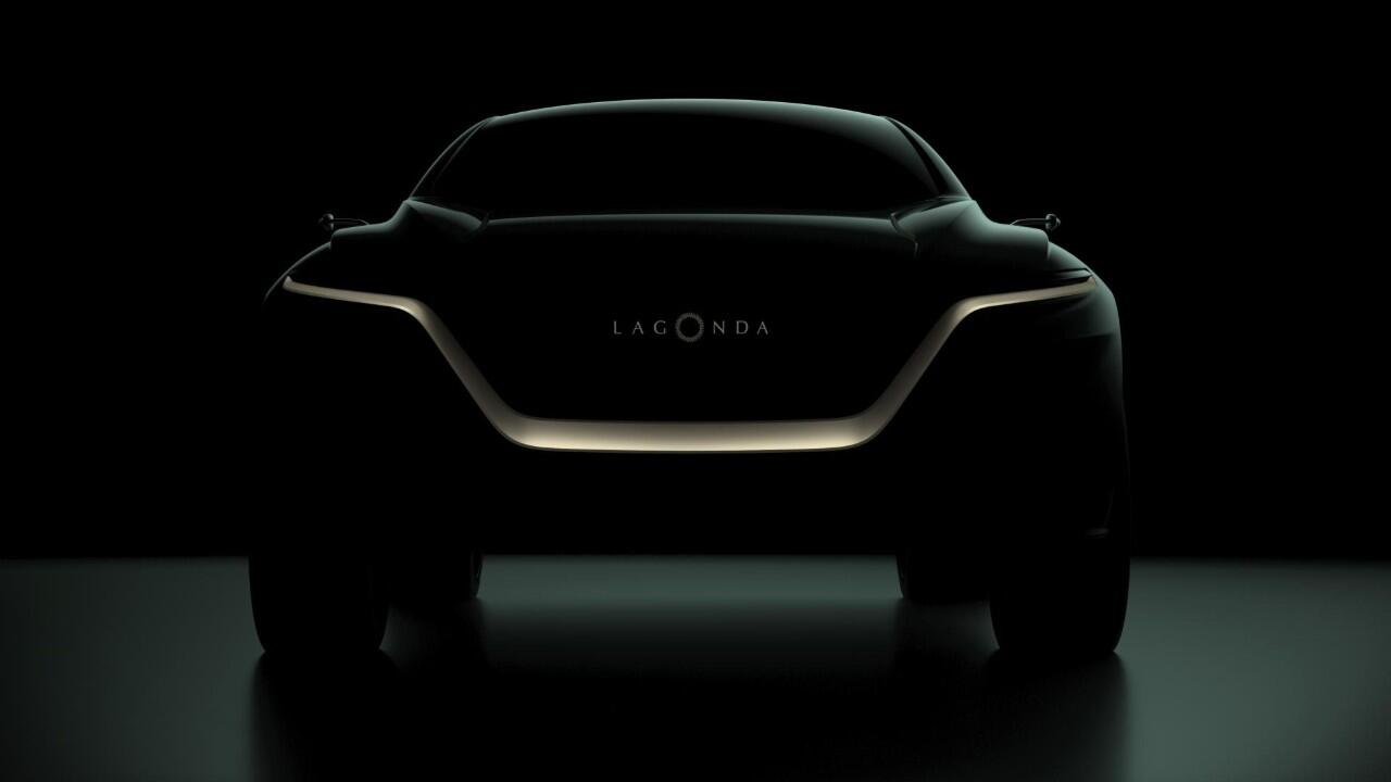 Lagonda's first production car is this electric SUV