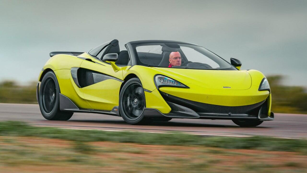 Review: McLaren 600LT Spider