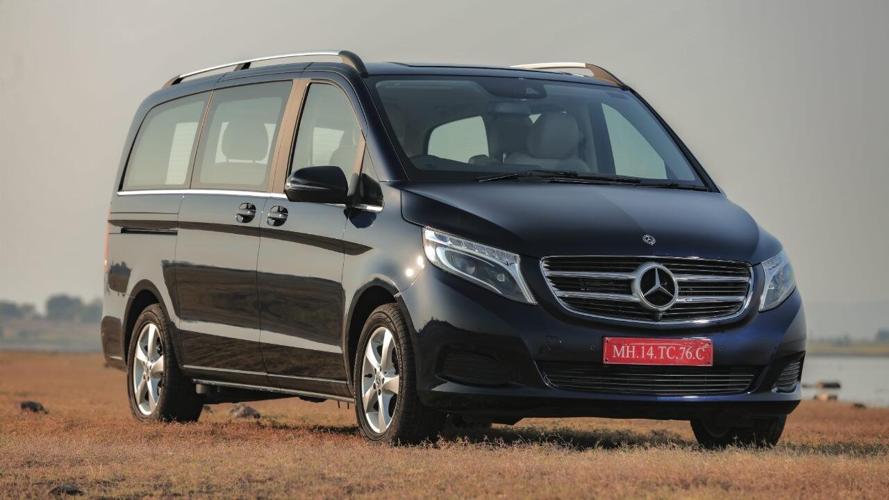 Review: Mercedes-Benz V-class