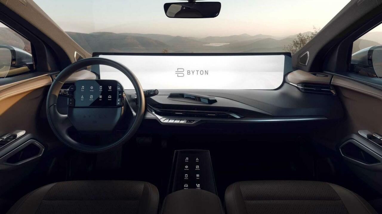 China has made an EV with a ridiculously massive screen