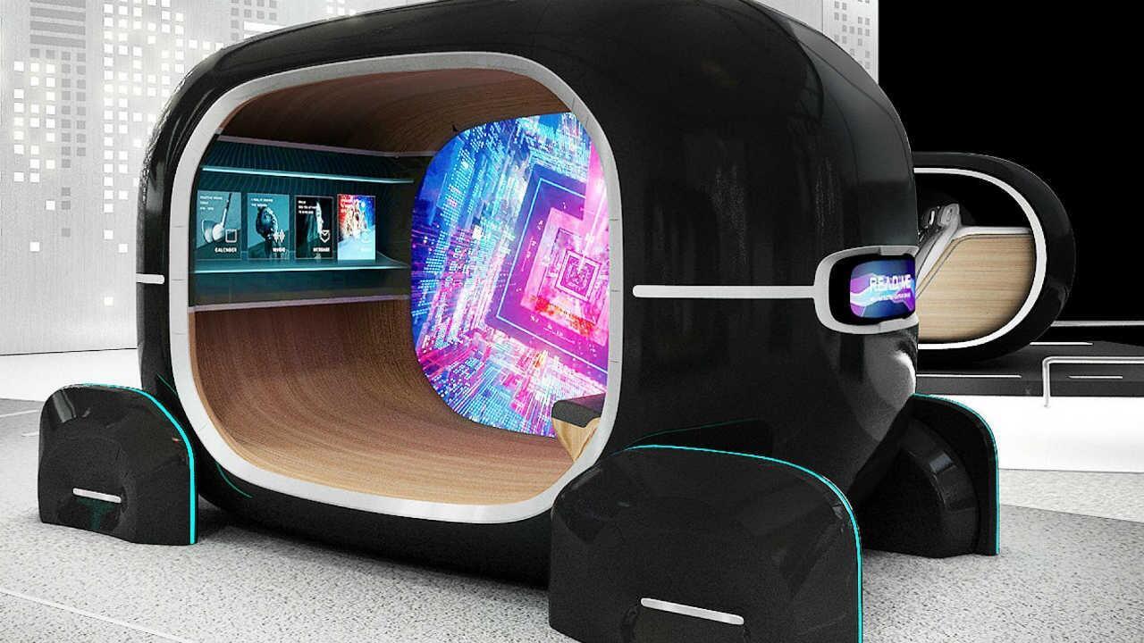 Kia's futuristic car interior can sense your mood
