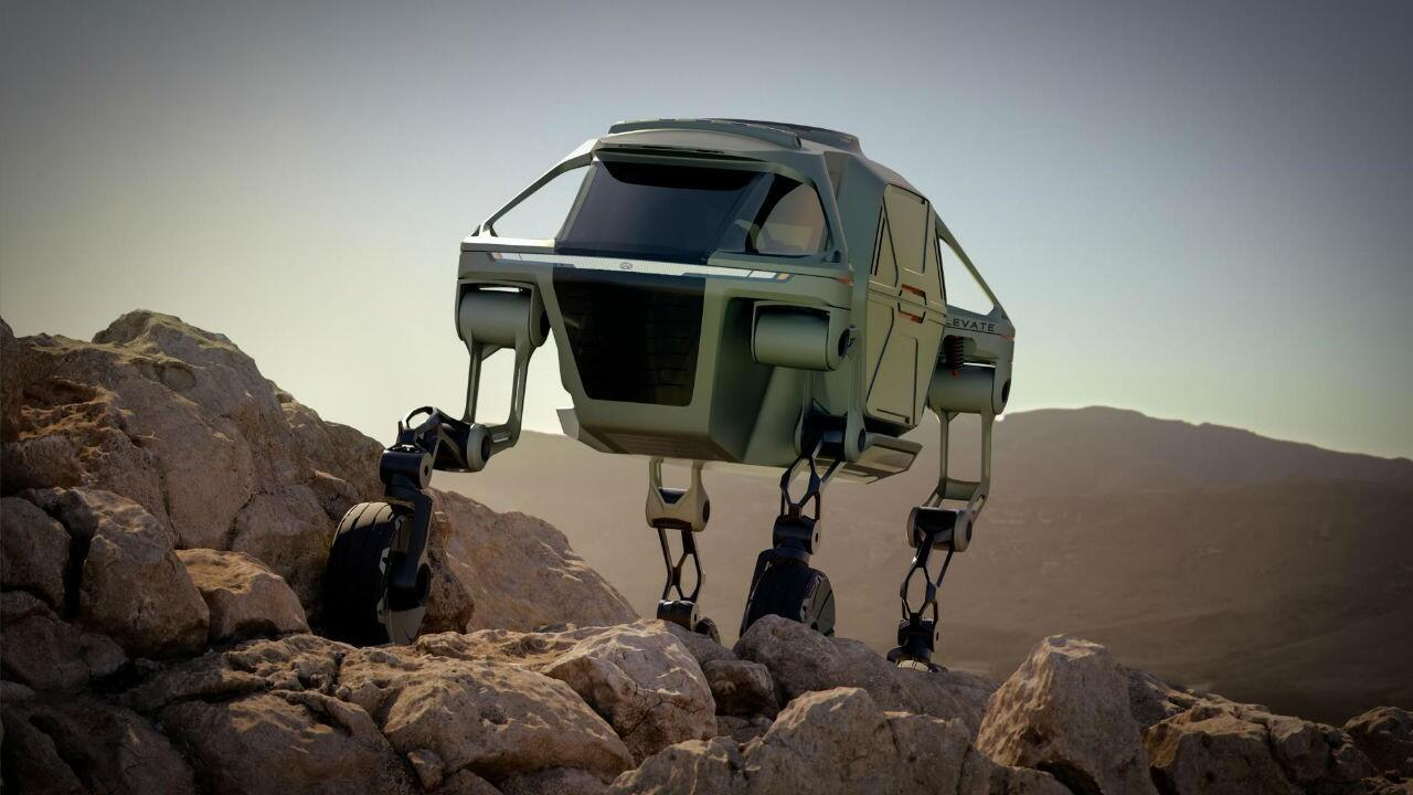 Hyundai's CES concept is a WALKING CAR