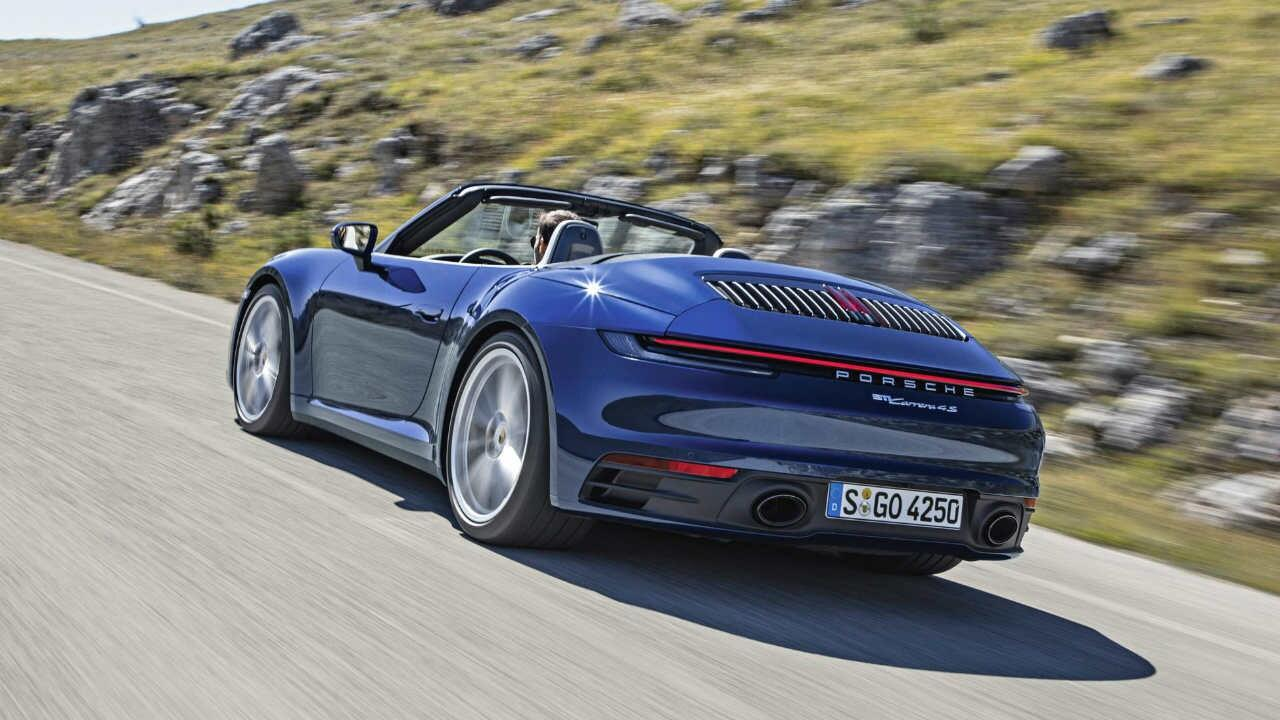 The brand new Porsche 911 Cabriolet is here
