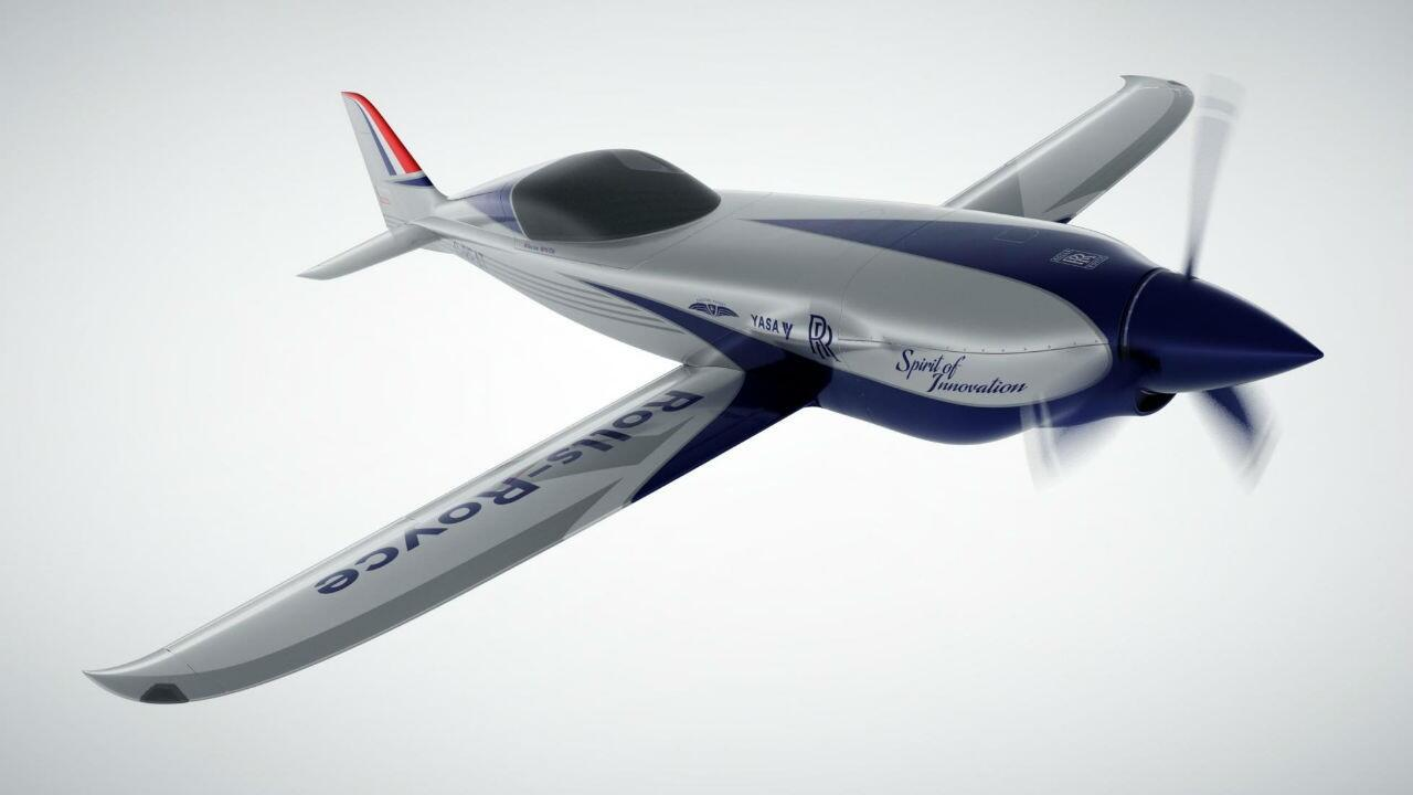 Rolls-Royce is building a 480kph+ electric plane