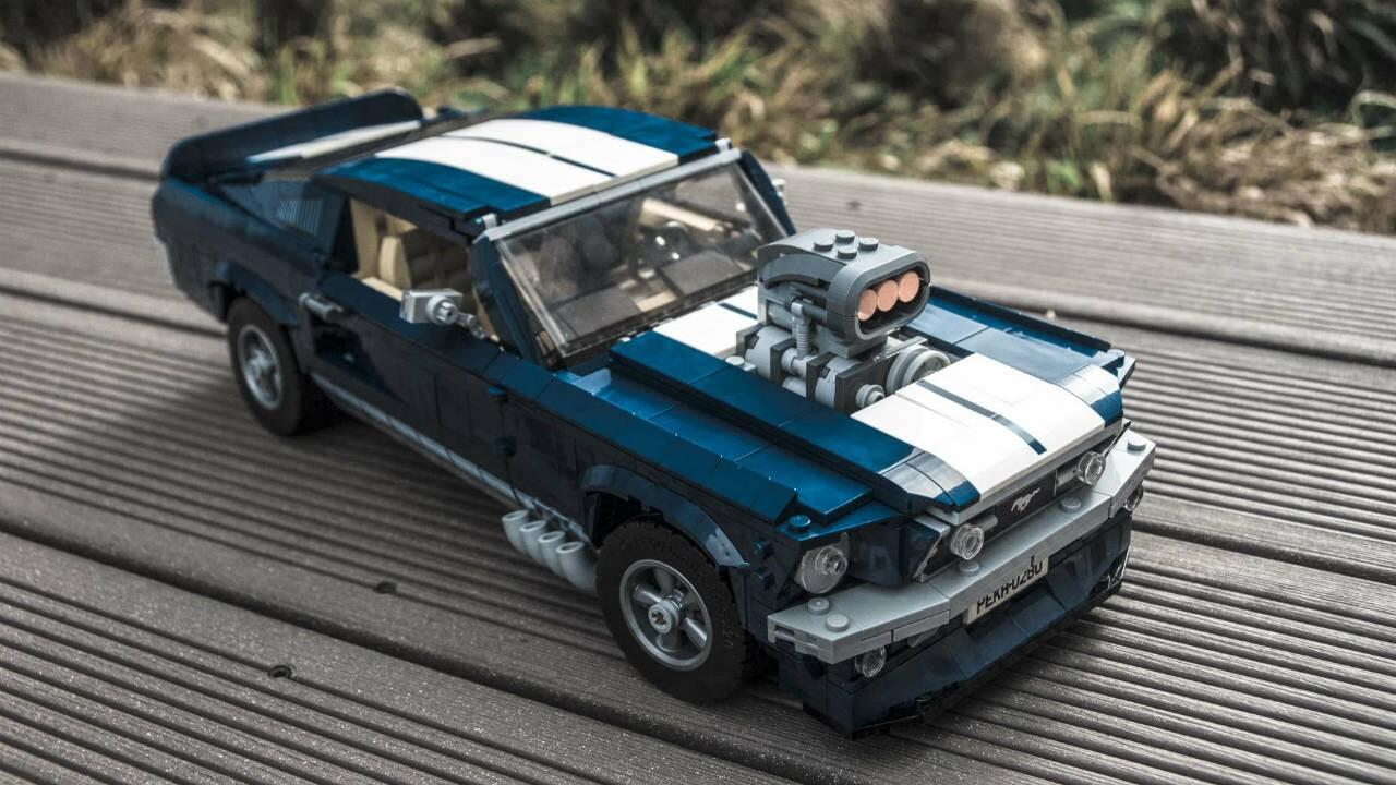 Eight of the nicest details in the lego ford mustang gt topgear india
