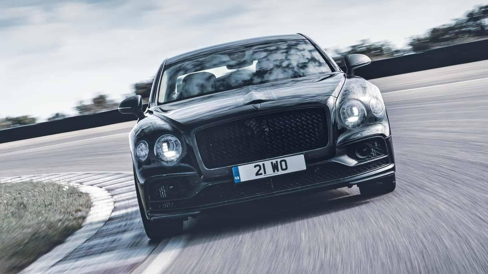 The new Bentley Flying Spur might just drift