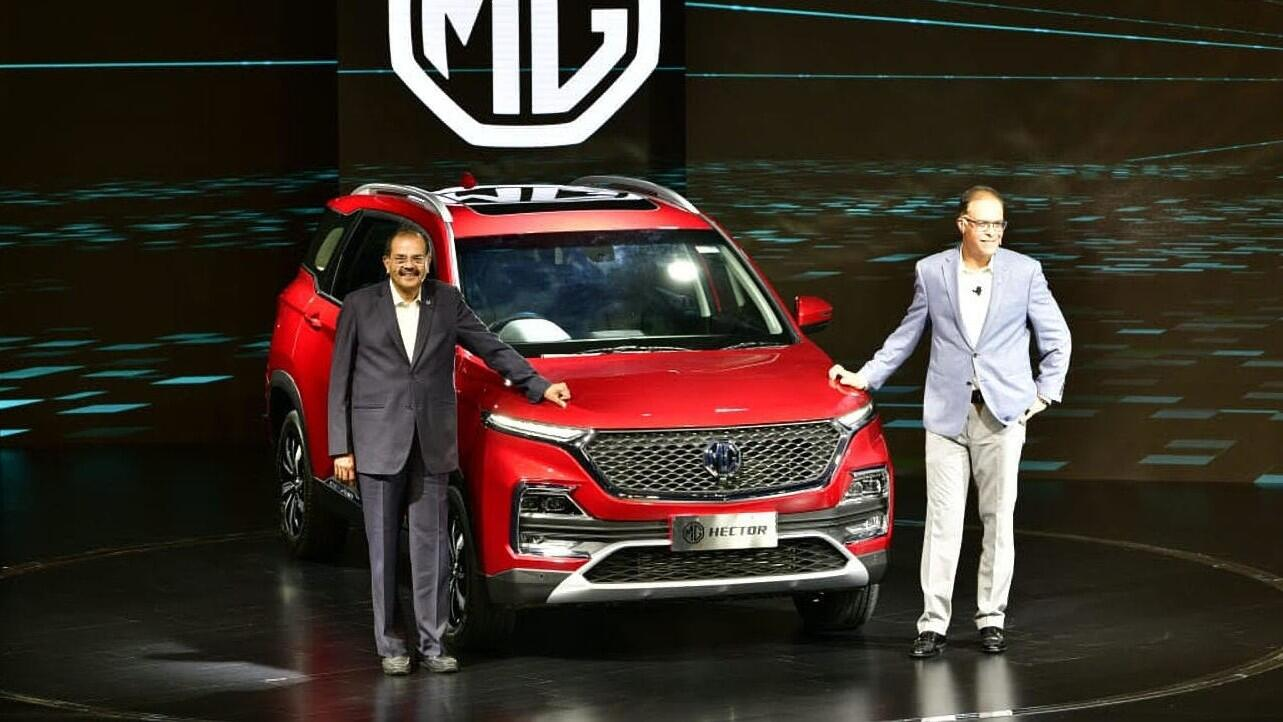 MG unveils the Hector, its first car in India