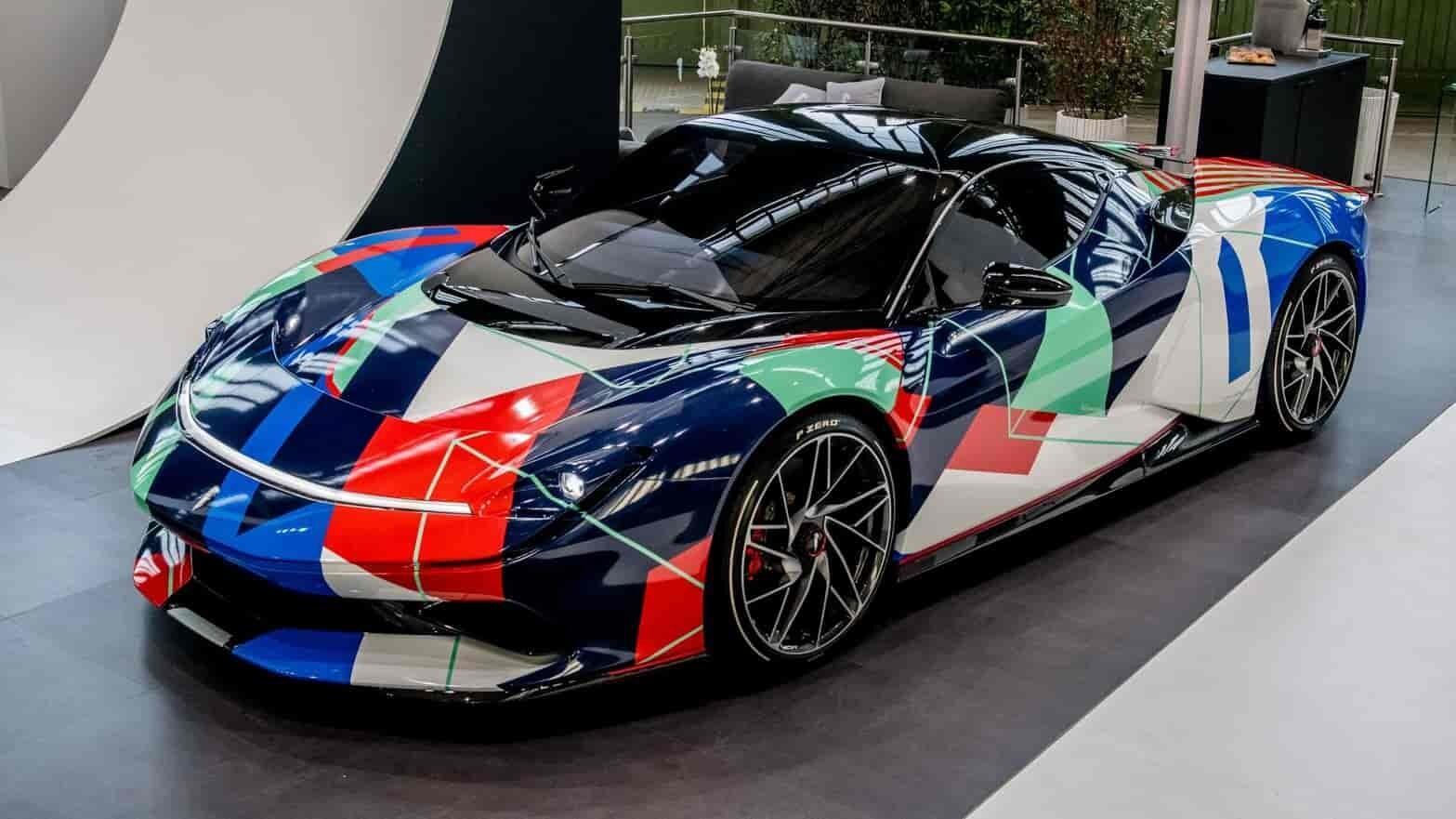 Look at this one-off Pininfarina Battista