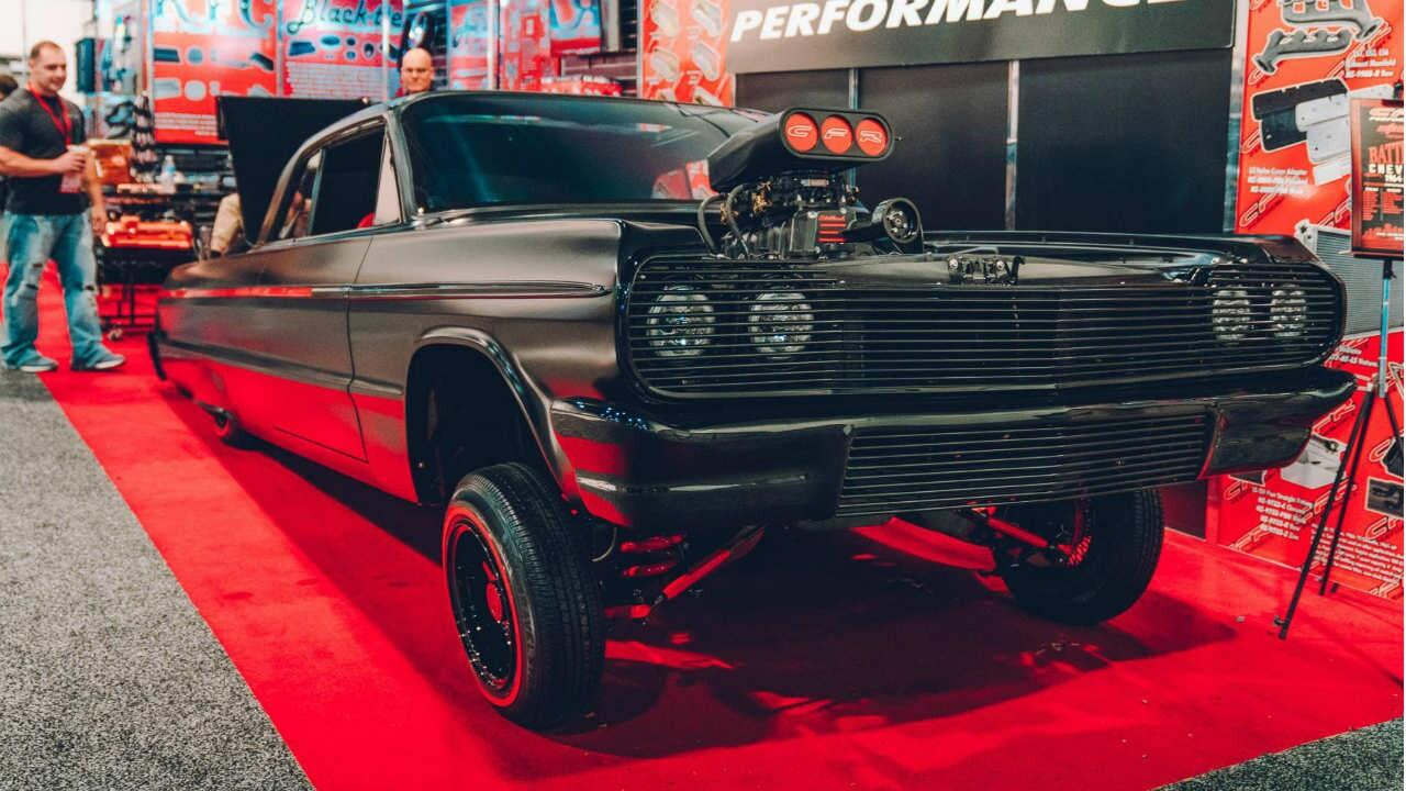 The fastest, weirdest and wackiest cars from SEMA: part 1