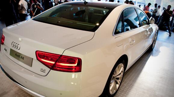 Audi A8 Launch Photos