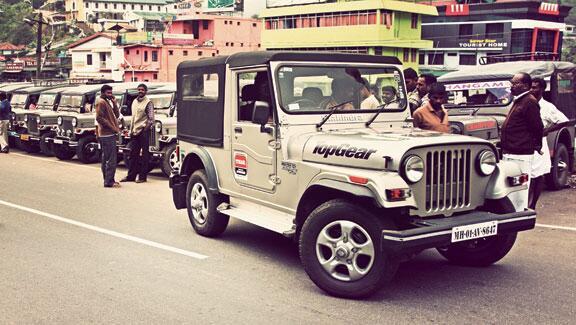 Thar in Munnar   TopGear India