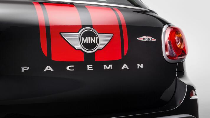 Pics of the Mini Paceman JCW